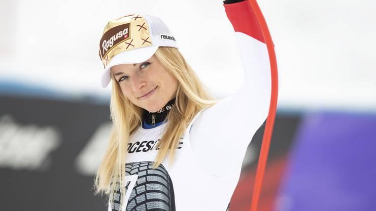 Lara Gut-Behrami: «Das ist das erste Wochenende in dieser Saison, an dem ich zwei Rennen so fahre, wie ich es mir vorgenommen habe.»