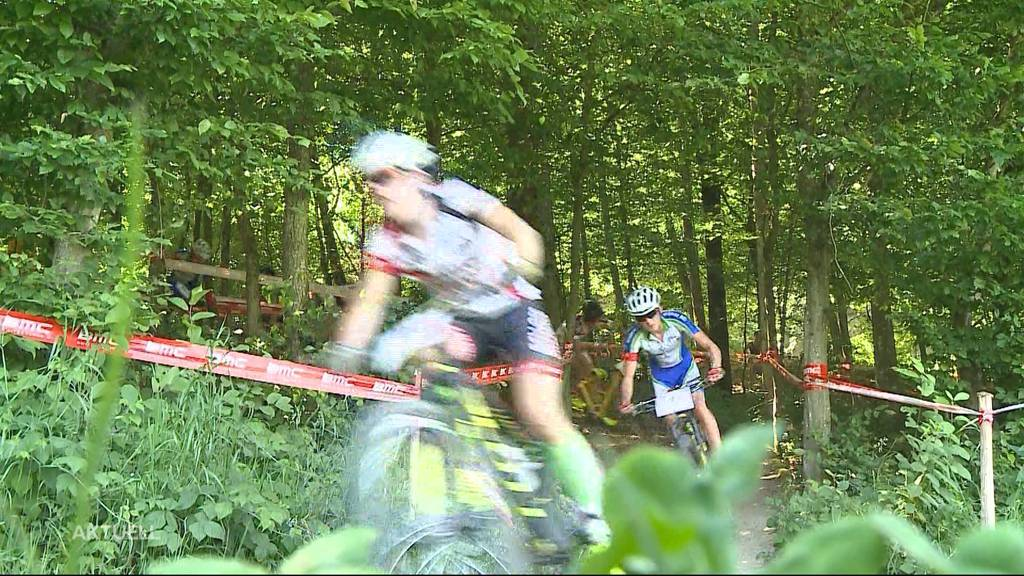 Kritik an Streckenführung durch den Wald bei Mountainbike-Rennen in Gränichen