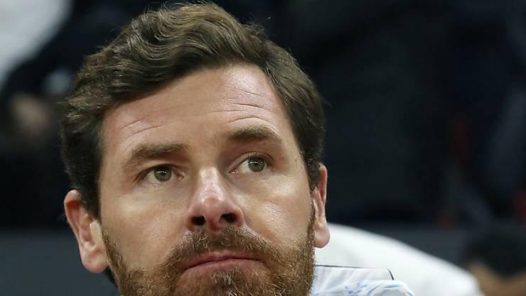 André Villas-Boas muss sich als Trainer von Marseille wieder einmal geschlagen geben