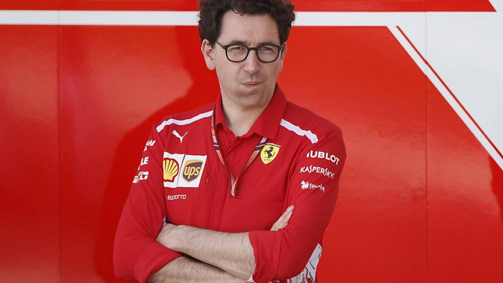 Mattia Binotto ist zum neuen Ferrari-Teamchef aufgestiegen