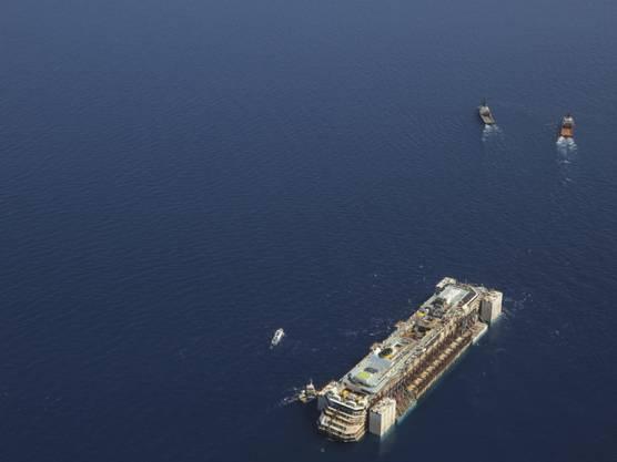 """Die """"Costa Concordia"""" soll am Wochenende in Genua ankommen"""