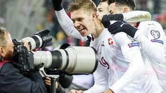 Von der schweren Verletzung zum Traumdebüt in der Nationalmannschaft: Cedric Itten erlebt in St. Gallen seinen persönlichen Traumabend