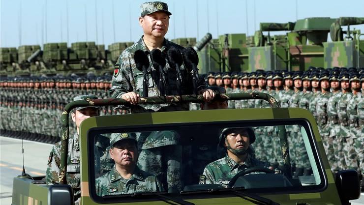 Chinas Präsident Xi Jinping: Droht nach dem US-Ausstieg aus dem INF-Vertrag ein neues Wettrüsten?