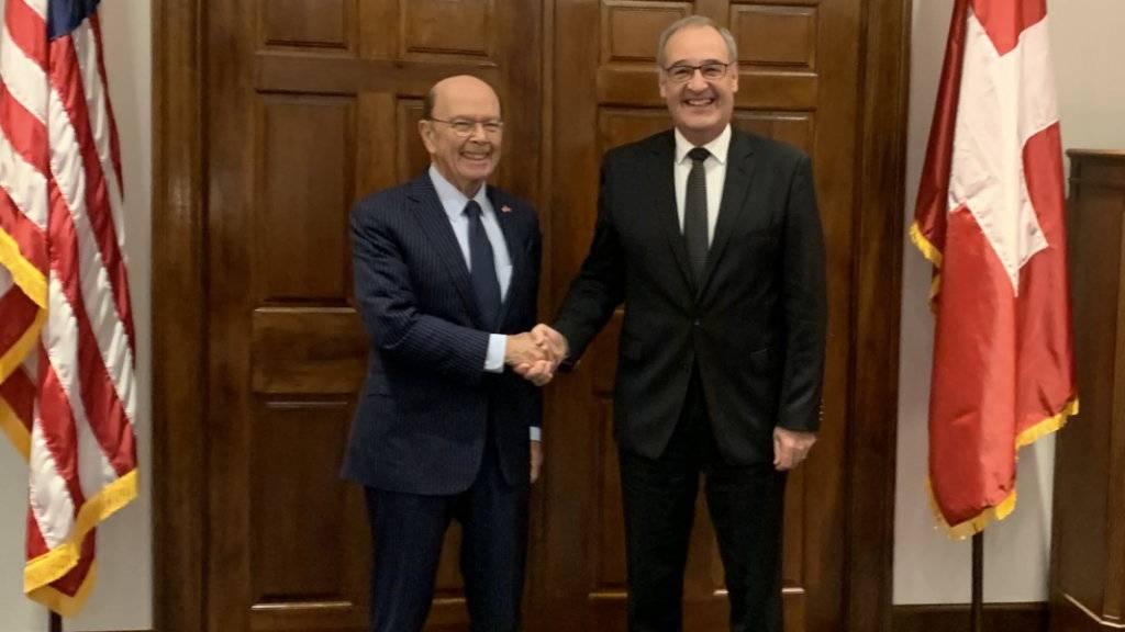 Schweiz bereit zu Vorgesprächen über Freihandelsabkommen