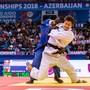 Ciril Grossklaus hofft, bald wieder ins Wettkampfgeschehen eingreifen zu können. Das Foto entstand an der Weltmeisterschaft 2018 in Aserbaidschan. zvg/PACO LOZANO