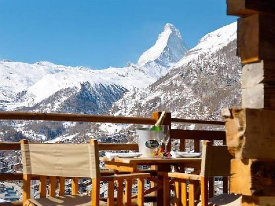 Blick aufs Matterhorn: Chalet Maurice.
