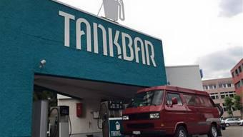 Seit Sommer 2015 ist sie geöffnet: die Tankstelle Tankbar der Fislisbacher Brüder Haslimeier.