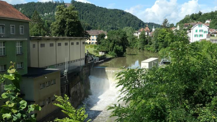 Grellingen bekommt ein Mischwasserbeckens an der Baselstrasse.