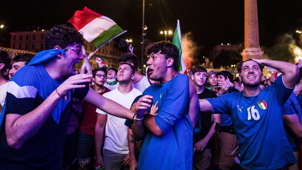 Nach Elfmeterkrimi: Italien steht im EM-Final