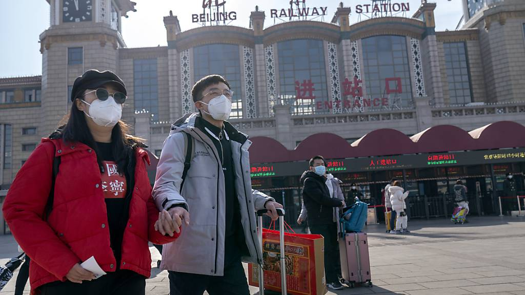 Jahr des Rindes: 60 Prozent weniger Reisen wegen Virus-Angst in China