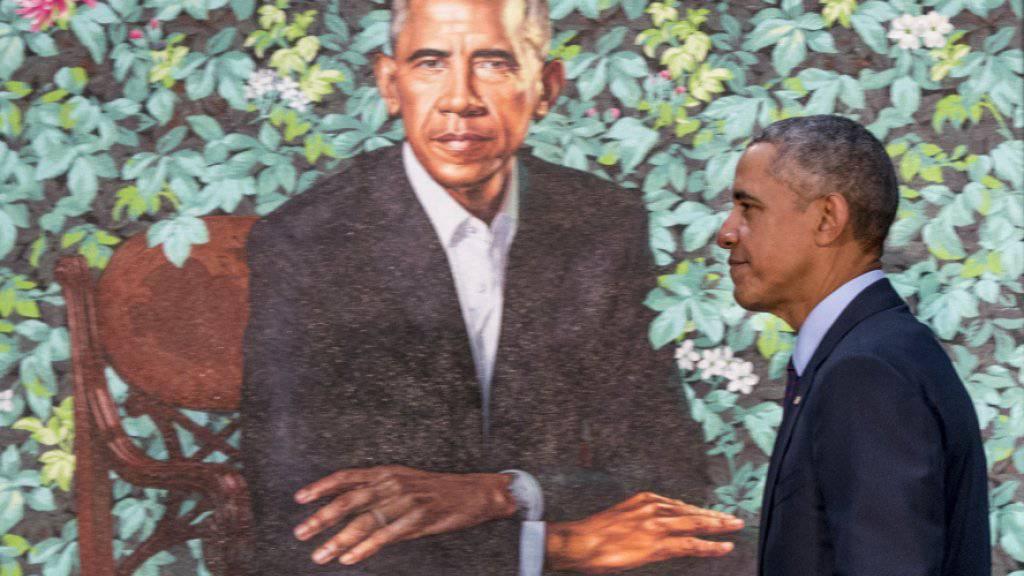 National Portrait Gallery enthüllt Obama-Porträts