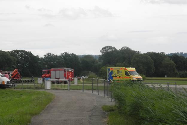Im Einsatz standen Feuerwehr, Ambulanz und mehrere Patrouillen der Kantonspolizei Solothurn.
