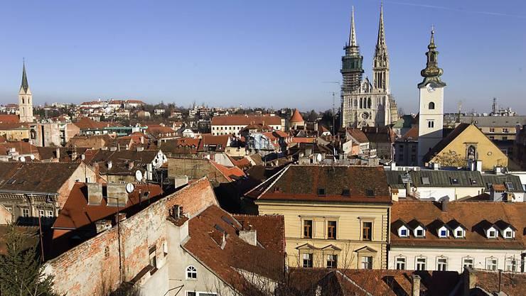 Die Schiesserei ereignete sich im Zentrum der kroatischen Hauptstadt Zagreb. (Archivbild)