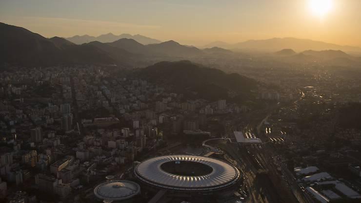 Im Maracanã-Stadion findet am 5. August die Eröffnungsfeier der Olympischen Spiele in Rio de Janeiro statt