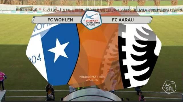 Saison 2016/17, 20. Runde, FC Wohlen-FC Aarau