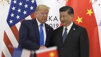 US-Präsident Donald Trump will US-Lieferungen an den chinesischen Technologiekonzern Huawei wieder erlauben.