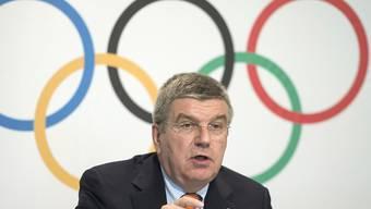 IOC-Präsident Bach geht mit Eurosport eine langjährige Partnerschaft ein