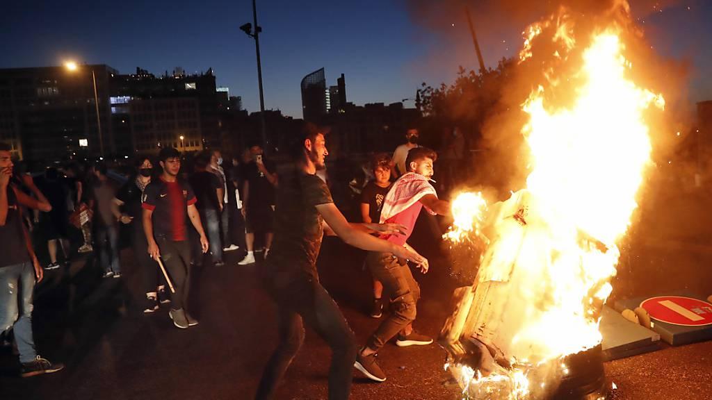 Libanons Regierung berät nach neuen Demonstrationen über Notmassnahmen