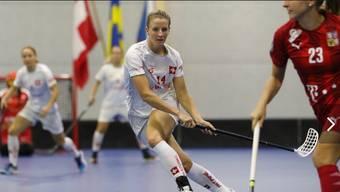 Mirjam Hintermann, Unihockey-WM (05.12.2019)