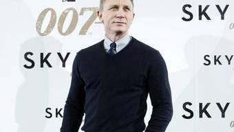 Hauptdarsteller Daniel Craig zum dritten Mal 007 (Archiv)