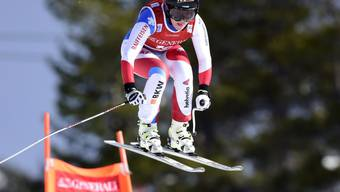 Lara Gut war am ersten Trainingstag zu den Weltcup-Abfahrten in Lake Louise die Schnellste