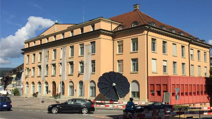 Das ehemalige Verwaltungsgebäude des regionalen Energieversorgers Eniwa an der Oberen Vorstadt 37.