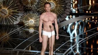 Neil Patrick Harris' Auftritt in Unterhosen bei den Oscars (Archiv)