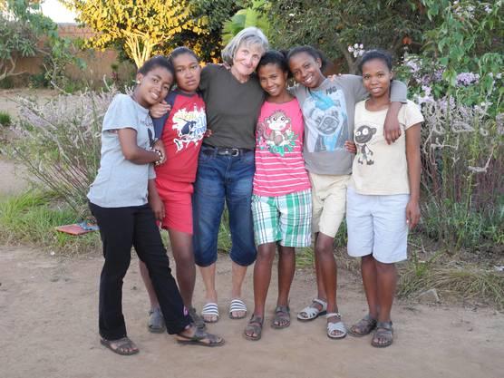 Das Paar Peter Frech und Therese Jäggi aus Oftringen in Madagaskar