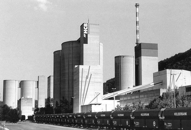In Rekingen wurde zwischen 1975 und 1995 Zement hergestellt.