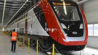 So sehen die neuen Bombardier-Züge aus. Doch momentan verursachen sie noch einige Probleme.