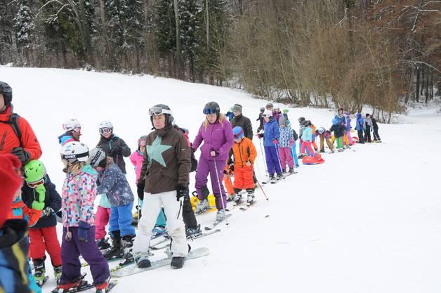 Skilift Röhrenmoos in Betrieb