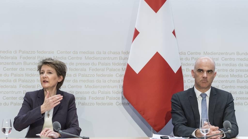Bundesrat verhängt drastische Massnahmen: Öffentliches Leben bis zum 19. April lahmgelegt