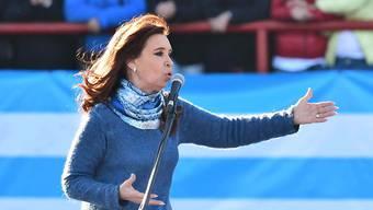 Cristina Fernández de Kirchner sieht einem Gerichtsprozess entgegen. (Archiv)