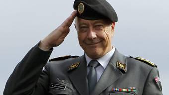 Vorzeitiger Ruhestand: Chef der Armee André Blattmann.