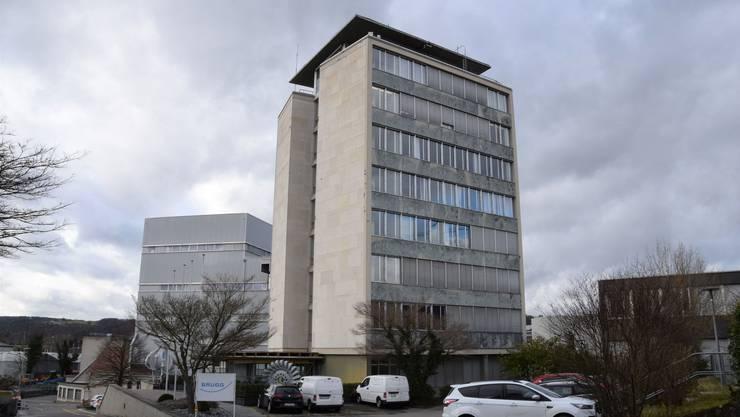 Das ehemalige Verwaltungsgebäude der Kabelwerke Brugg.