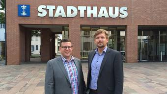 Auch Sven Johannsen (rechts) will Dietiker Stadtrat werden