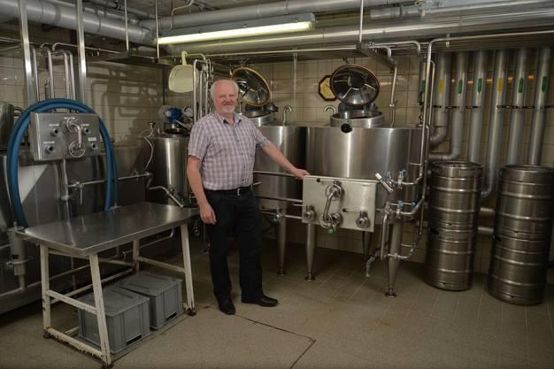 Die ehemalige Molkerei und Käserei wurde zur Brauerei umfunktioniert
