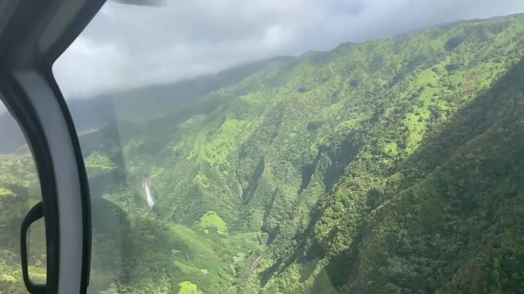 Helikopter-Absturz in Hawaii: Schweizer unter den Opfern