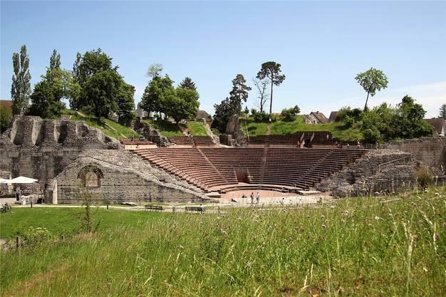 Hier unterhielten sich die Römer: Amphitheater in Augusta Raurica.