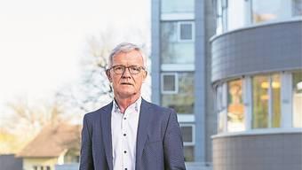 Reusspark-Direktor Thomas Peterhans ist Spartenpräsident Pflegeinstitutionen beim Spital- und Heimverband vaka. Bilder: Severin Bigler