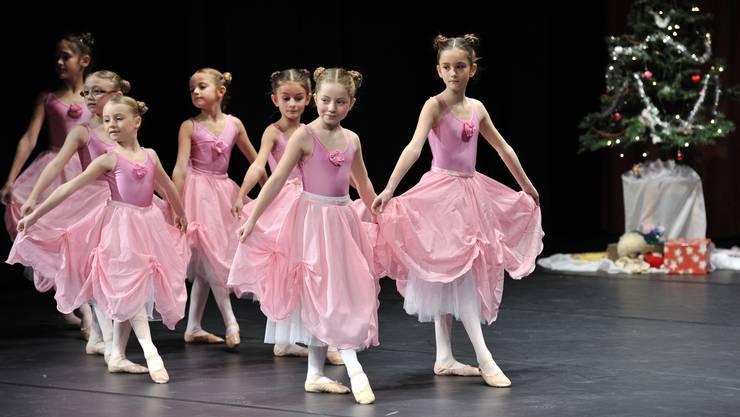 Die Ballerinas der Ballettschule Bernard