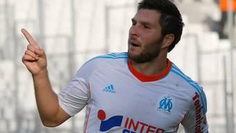 Matchwinner für Marseille: André-Pierre Gignac.