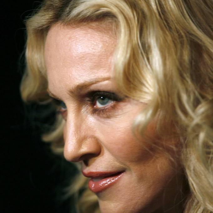 Der Ufsteller gratuliert Madonna