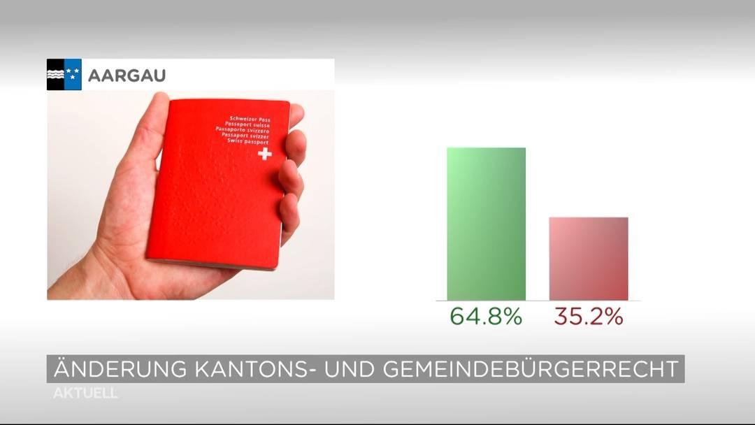 Aargau will verschärfte Einbürgerung