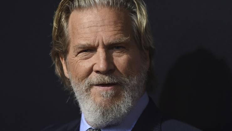 """""""Wow - was für eine Ehre"""". So cool hat US-Schauspieler Jeff Bridges die anstehende Ehrung für sein Lebenswerk an den Golden Globe Awards auf Twitter kommentiert. (Archivbild)"""