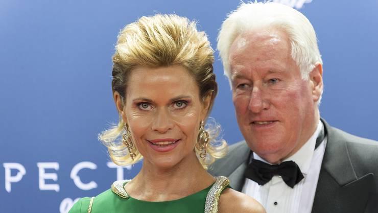 Der Promi-Millionär Walter Beller und seine Gattin Irina.