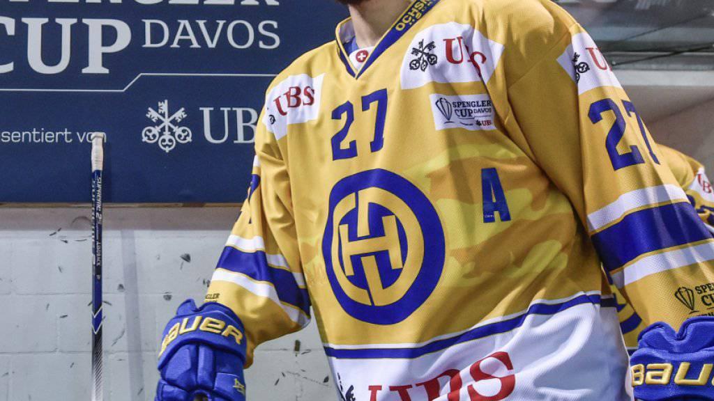 Magnus Nygren steht dem HC Davos mehrere Wochen nicht zur Verfügung