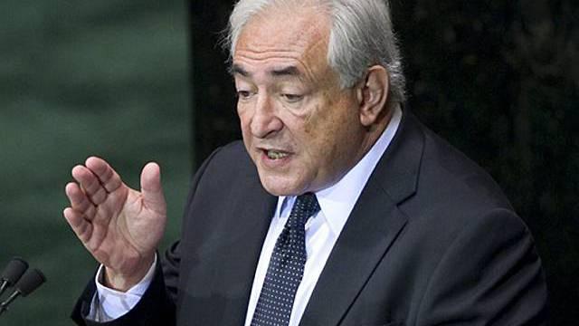 IWF-Chef Strauss-Kahn (Archiv)