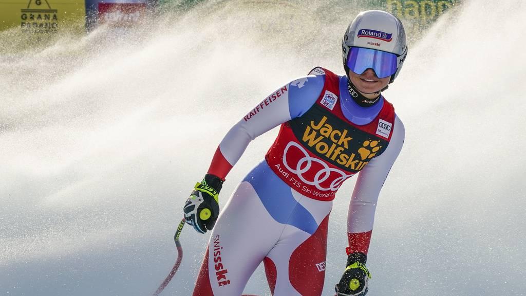 Corinne Suter erneut auf dem Podest – 8. Weltcupsieg von Goggia