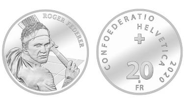 So sieht die 20-Franken-Silbermünze aus